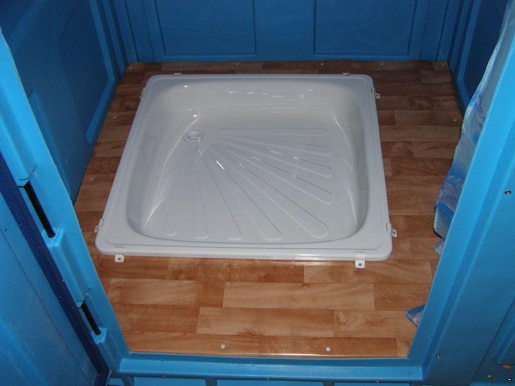 Поддон в душ в частном доме своими руками